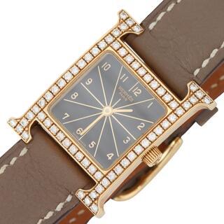 エルメス(Hermes)のエルメス HERMES Hウォッチ 腕時計 レディース【中古】(腕時計)