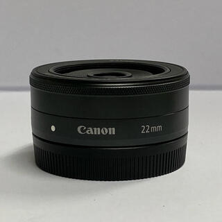 Canon - 【美品】EF-M22mm F2 STM