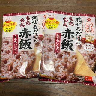 キッコーマン(キッコーマン)の混ぜるだけもちもち赤飯 2個セット(レトルト食品)