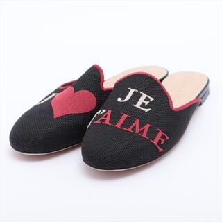 ディオール(Dior)のディオール  ファブリック 36 ブラック レディース その他靴(その他)