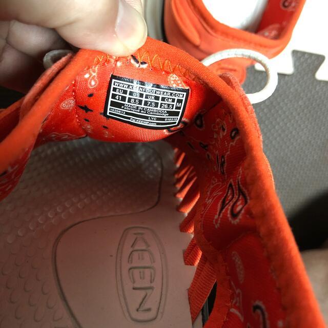KEEN(キーン)のキーン サンダル ユニーク 26.5cm メンズの靴/シューズ(サンダル)の商品写真