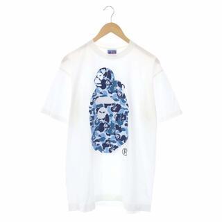 A BATHING APE - アベイシングエイプ A BATHING APE Tシャツ カットソー L 白