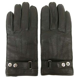 ヴィヴィアンウエストウッド(Vivienne Westwood)のVivienne Westwood 手袋 ラムレザー グローブ 黒 ブラック(手袋)