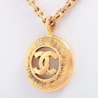 シャネル(CHANEL)のシャネル ココマーク GP  ゴールド レディース ネックレス(ネックレス)