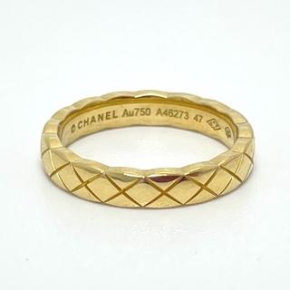 シャネル(CHANEL)のCHANEL シャネル ジュエリー マトラッセ リング・指輪 ゴールド(リング(指輪))