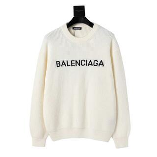 Balenciaga - 美品 Balenciaga セーター 白