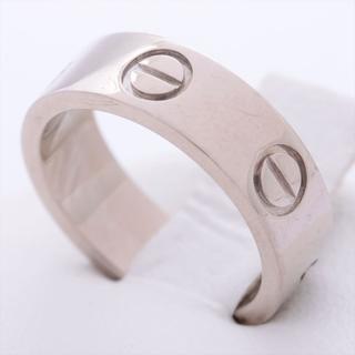 カルティエ(Cartier)のカルティエ ラブ  48 WG ユニセックス リング・指輪(リング(指輪))