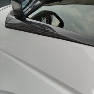 200系ハイエース リアルカーボン ウィンド トリム ガーニッシュ 左右セット