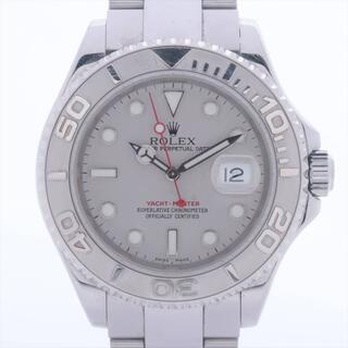 ロレックス(ROLEX)のロレックス ヨットマスター SS×PT   メンズ 腕時計(腕時計(アナログ))