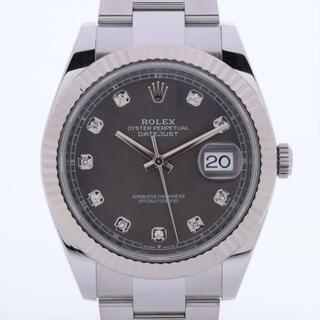 ロレックス(ROLEX)のロレックス デイトジャスト SS×WG   メンズ 腕時計(腕時計(アナログ))