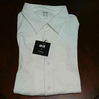 UNIQLO - 早い者勝ちユニクロセオリー エアリズム フルオープンポロシャツ XL+J U