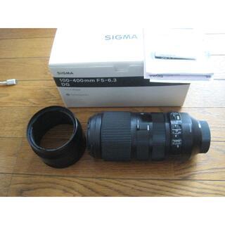 SIGMA - 美品 SIGMA 100-400mmF5-6.3 DG OS HSM Nikon