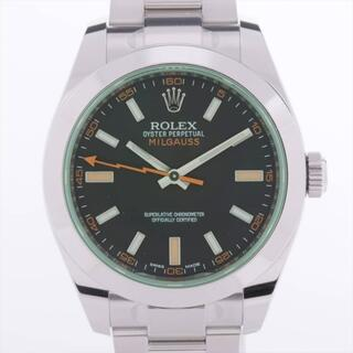 ロレックス(ROLEX)のロレックス ミルガウス SS   メンズ 腕時計(腕時計(アナログ))
