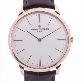 ヴァシュロンコンスタンタン(VACHERON CONSTANTIN)のヴァシュロンコンスタンタン パトリモニー 750×革   メンズ 腕時計(腕時計(アナログ))