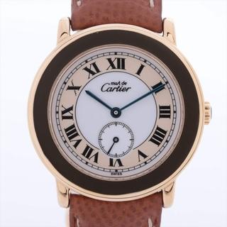 カルティエ(Cartier)のカルティエ マストロンド 925×革   レディース 腕時計(腕時計)