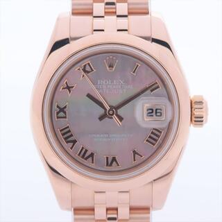 ロレックス(ROLEX)のロレックス デイトジャスト 750   レディース 腕時計(腕時計)