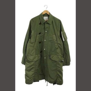 sacai - サカイ カプセルコレクションハイブリッド スプリングコート ステンカラー