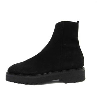 ダブルエイチ 干場義雅 ヒロシツボウチ ブーツ 黒 US8 WHZ0777SB(ブーツ)
