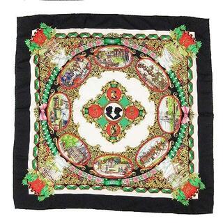 エルメス(Hermes)のエルメス 仏英同盟 L'ENTENTE CORDIALE カレ90 スカーフ(バンダナ/スカーフ)