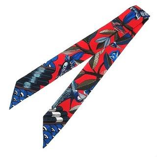 エルメス(Hermes)のエルメス HERMES ツリー オブ ソング ツイリー スカーフ マルチカラー(バンダナ/スカーフ)