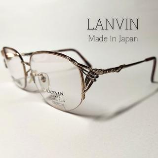ランバン(LANVIN)のLANVIN メガネフレーム チタン-P ハーフリム 03(サングラス/メガネ)