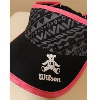 ウィルソン(wilson)のレディース サンバイザー(ウエア)