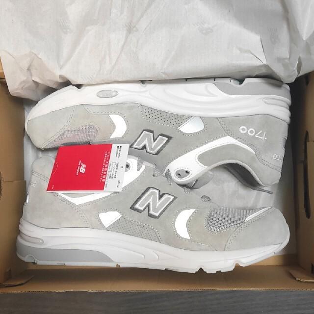 """New Balance(ニューバランス)のニューバランス CM1700 B1 """"ライトグレー"""" メンズの靴/シューズ(スニーカー)の商品写真"""