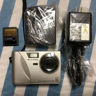 フジフイルム(富士フイルム)のFUJIFILM FinePix 1500 +ACアダプタ等(コンパクトデジタルカメラ)