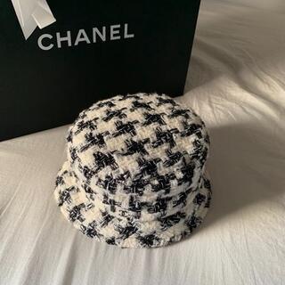CHANEL - CHANEL 20AW TWEED BUCKET HAT