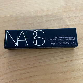 NARS - VOCE 付録 NARS ベルベットマットリップペンシル