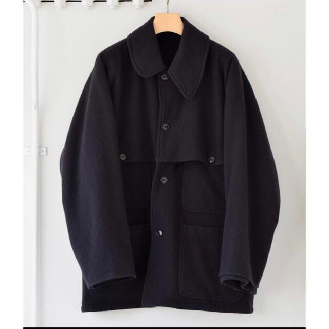 COMOLI(コモリ)のCOMOLI ナッピングウールマッキノウクルーザー メンズのジャケット/アウター(ミリタリージャケット)の商品写真