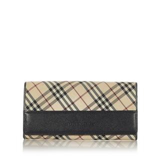 バーバリー(BURBERRY)のバーバリー 長財布 レディース 美品(財布)