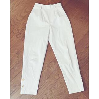 ロキエ(Lochie)の古着 パンツ ロングパンツ テーパード パンツ 昭和 レトロ (カジュアルパンツ)