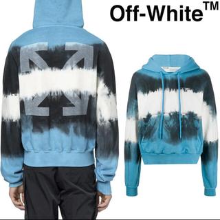 OFF-WHITE - 【Off-White】タイダイ アロー★フーディ パーカー プルオーバー