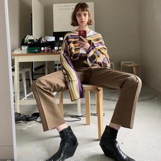 Maison Martin Margiela - perverze  color strip knit sweater