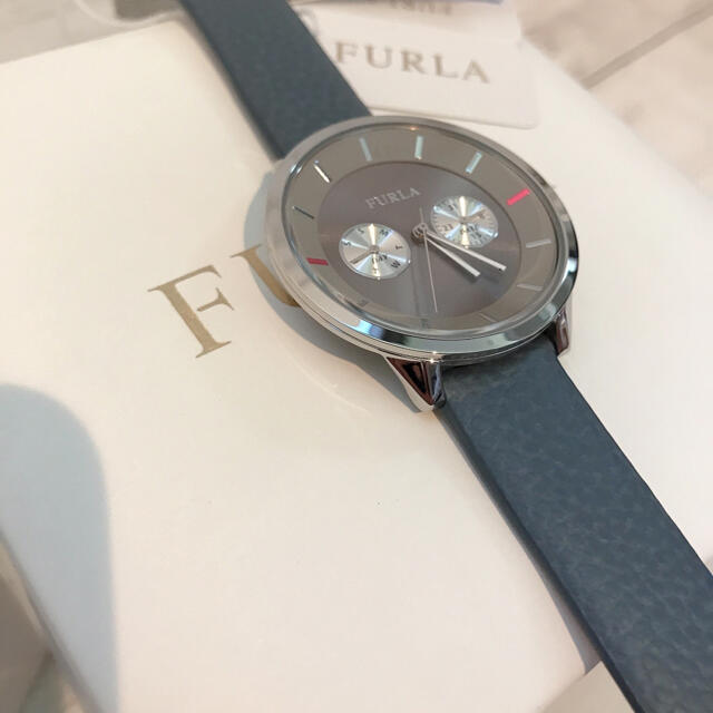 Furla(フルラ)の【上品】FURLA フルラ レディース レザーベルト ラウンド クォーツ 腕時計 レディースのファッション小物(腕時計)の商品写真