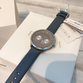Furla - 【上品】FURLA フルラ レディース レザーベルト ラウンド クォーツ 腕時計