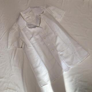 ルネ(René)のRene ルネ 襟フリル 半袖ブラウス 9号(シャツ/ブラウス(半袖/袖なし))
