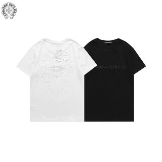 Tシャツ2枚8000円Chrome heartsクロムハーツユニセックス半袖