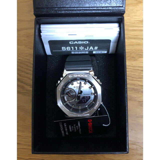 G-SHOCK(ジーショック)のCASIO G-SHOCK GM-2100-1AJF カシオーク メンズの時計(腕時計(アナログ))の商品写真