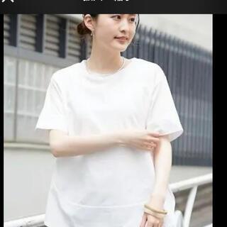 チャオパニックティピー(CIAOPANIC TYPY)の新品 ciaopanic typy 異素材切り替えラウンドヘムTEE(Tシャツ(半袖/袖なし))