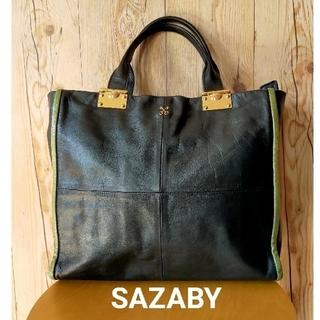 SAZABY - サザビー ハンドバッグ ブラック