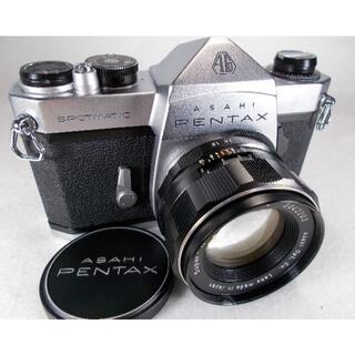 ペンタックス(PENTAX)の完動品 即撮影可能 フィルムカメラ Pentax SP f/1.8 R323(フィルムカメラ)