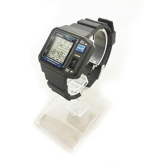 カシオ(CASIO)のカシオ JP-100W カシオ 脈拍測定 パルスチェック 腕時計 デジタル 黒(腕時計)