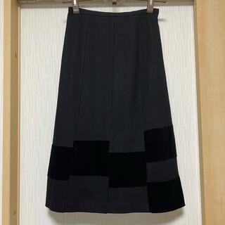 ホコモモラ(Jocomomola)のホコモモラ オシャレなウールスカート(ひざ丈スカート)