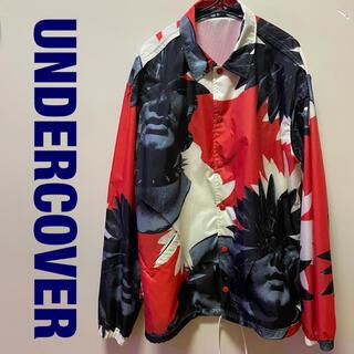 UNDERCOVER - undercover 総柄ブルゾン コーチジャケット サイズ3