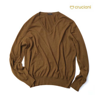 クルチアーニ(Cruciani)のクルチアーニ 9万最高級カシミアブラウンニット(ニット/セーター)