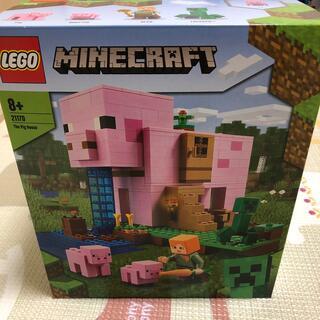レゴ(Lego)のLEGO 21170 ブタのおうち マインクラフト 新品未開封(プラモデル)