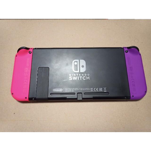 Nintendo Switch(ニンテンドースイッチ)の【中古】任天堂 Nintendo Switch 本体 エンタメ/ホビーのゲームソフト/ゲーム機本体(家庭用ゲーム機本体)の商品写真
