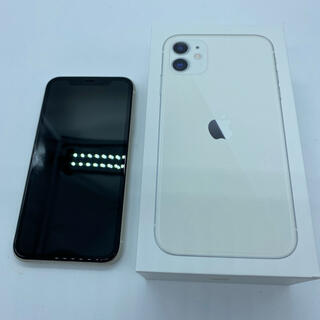 iPhone - 【訳あり】iPhone11 64GB SIMフリー ホワイト 白